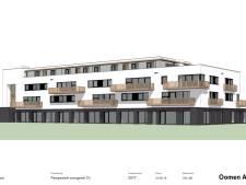 Rabobank Stationsplein Etten-Leur gesloopt, nieuwbouw appartementen