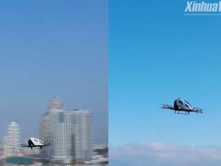 Prendre le taxi en drone pourrait bientôt devenir une réalité en Corée du Sud