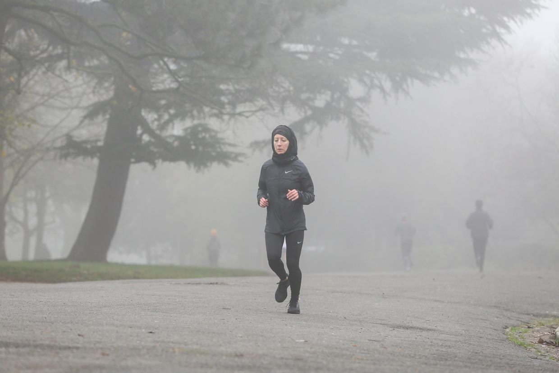 'Stel jezelf de vraag waarom je rent, dat is cruciaal. Is het je puur en alleen om die marathon te doen?' Beeld SOPA Images/LightRocket via Gett