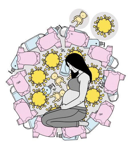 Zwanger zijn in coronatijd: van teveel stress naar te stil
