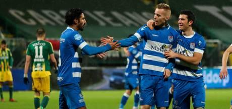 Toch nog een uitzege in 2020: PEC Zwolle rekent mede dankzij Van Duinen in Den Haag af met ADO