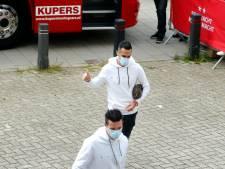 Zahavi na brute woningoverval weer terug in de basis bij PSV
