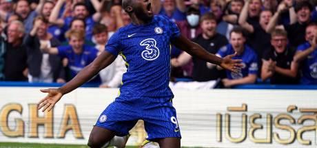 Le doublé pour Romelu Lukaku, Chelsea rejoint Man U en tête de Premier League