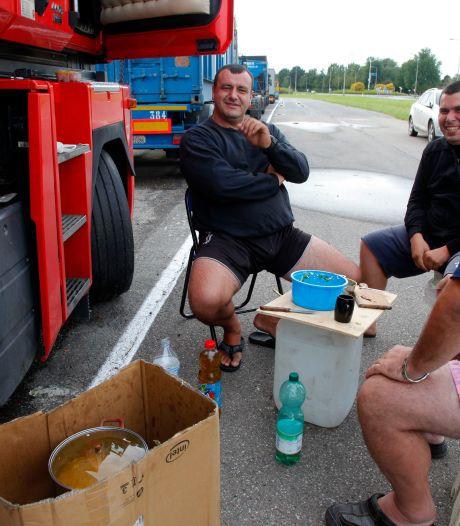 Buitenlandse truckers betalen 3500 euro om hier te kunnen rijden, om vervolgens een hongerloon te krijgen
