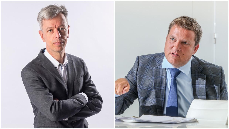 Economen Geert Noels en Ivan Van de Cloot zien vooral gemiste kansen Beeld PN