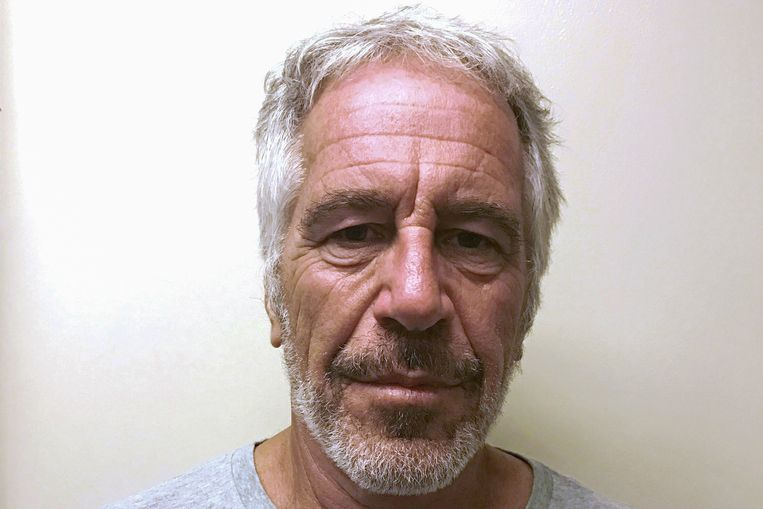 Jeffrey Epstein op een foto eerder dit jaar gemaakt door de Amerikaanse justitie. Beeld Reuters