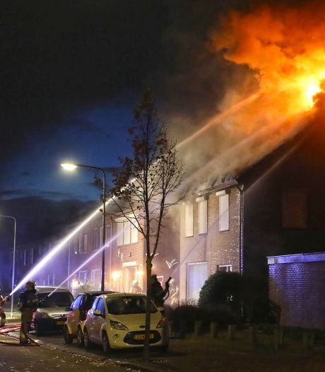 Rampzalig begin herfstvakantie: huis in brand terwijl gezin uit Berghem weekendje weg is