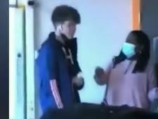Un élève d'un lycée français bouscule son enseignante en plein cours