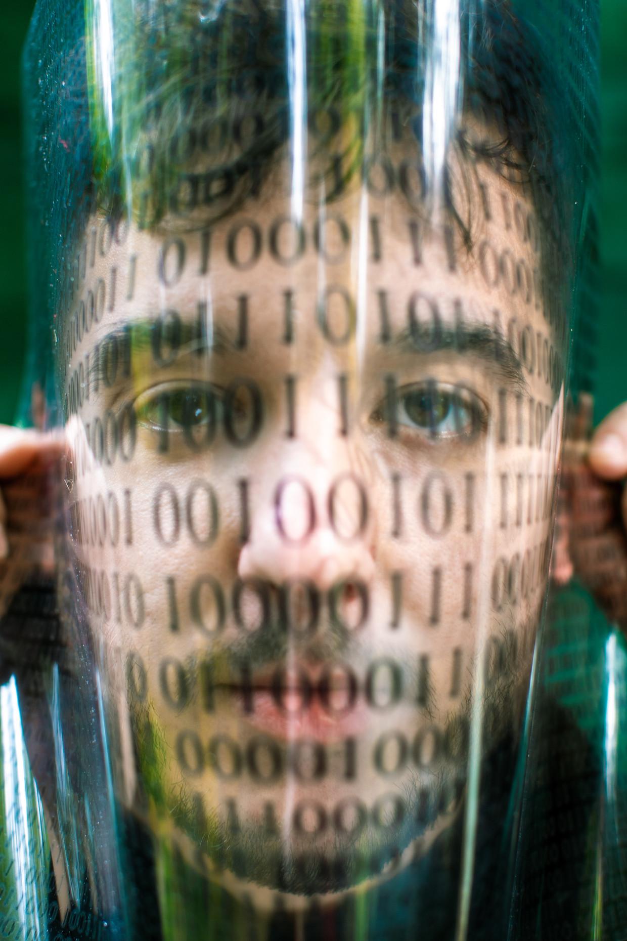 Daniël Verlaan is misschien wel de strafste cyberjournalist van de Lage Landen. Beeld Nosh Neneh