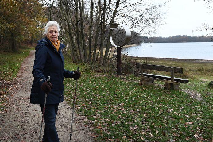 Het mooiste plekje van Annemarie Leinarts is te vinden langs het water bij de Kuilen.