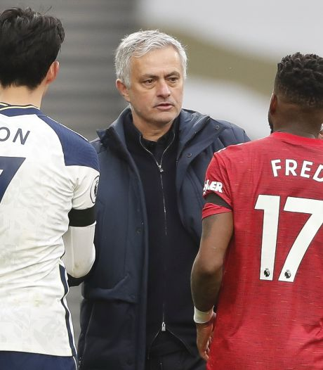Mourinho: 'Son heeft geluk dat zijn vader een beter persoon is dan Solksjaer'