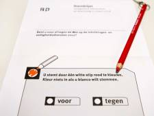 Weinig animo voor referendum; Leerdam stemde als enige tégen