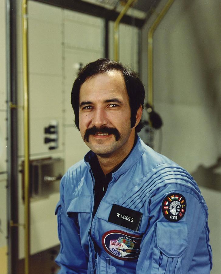 De astronaut Wubbo Ockels in 1985.