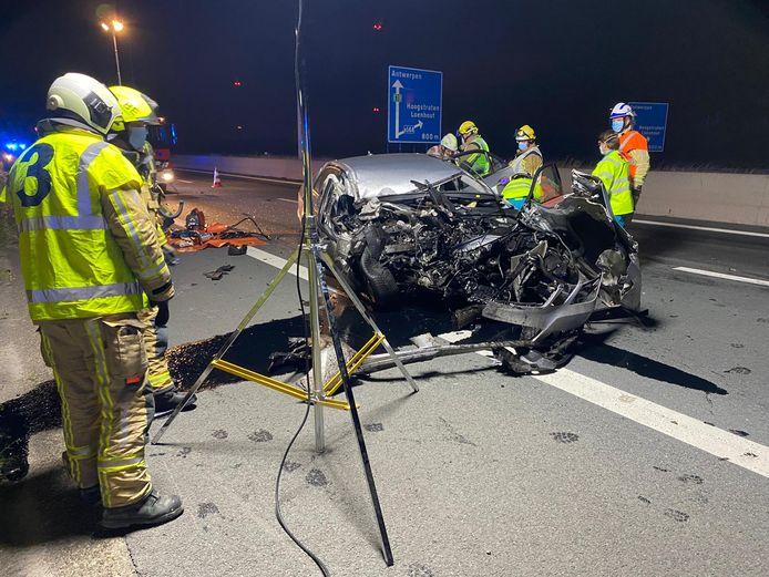 Het ongeval gebeurde op het grensgebied tussen Loenhout en Minderhout.