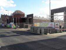 Bouwplaats Lidl in Kaatsheuvel blijft voorlopig dicht na faillissement aannemer