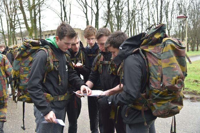 GO! Atheneum Geraardsbergen leidt rekruten op voor defensie, politie, brandweer en bewaking.