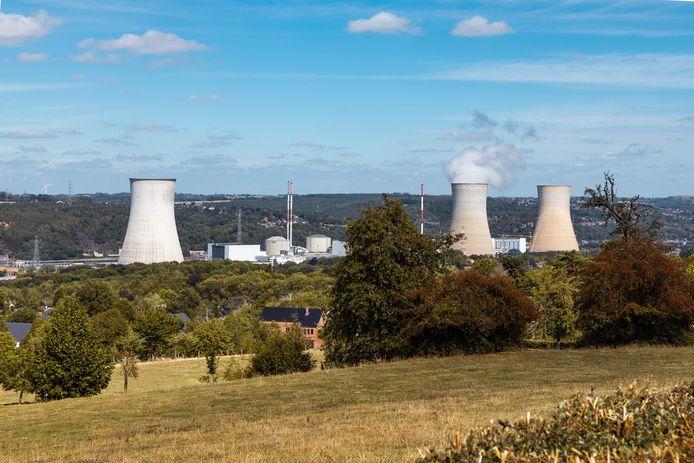 De kerncentrale in Tihange.