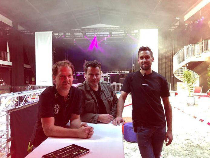 De drie ondernemers achter The Inside (vlnr) Marrick Verhoeven, Alwin Houwing en Erik Haenen