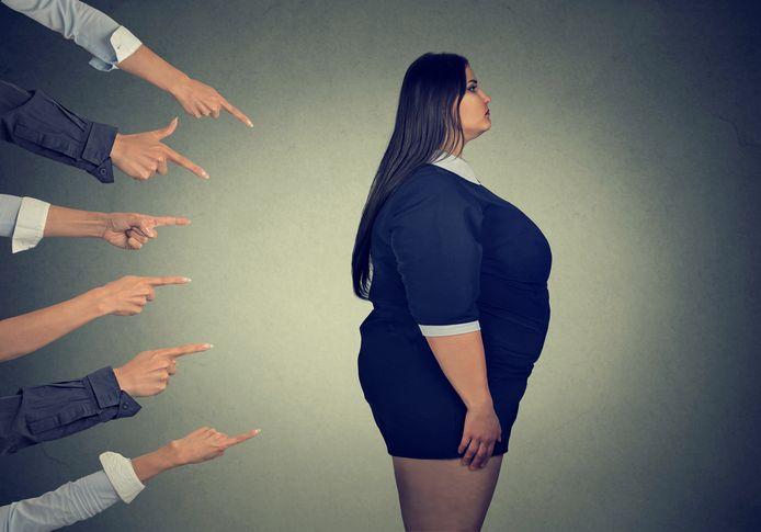 Foto ter illustratie. Werknemers met overgewicht worden gediscrimineerd, zo blijkt uit onderzoek.