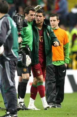 """Een reconstructie van de rel rond Stijn Stijnen en Cristiano Ronaldo in 2007: """"De bond panikeerde, maar wij waren niet onder de indruk"""""""