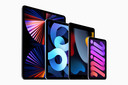 De verschillende iPads van Apple.