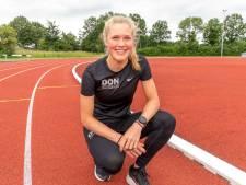 Atlete Noor Dekker mag eindelijk weer vlammen op de baan