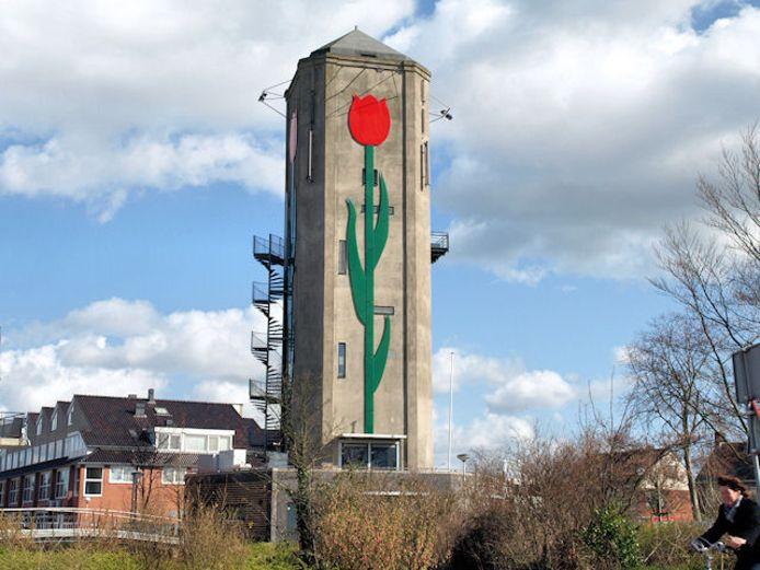 Watertoren in Roelofarendsveen