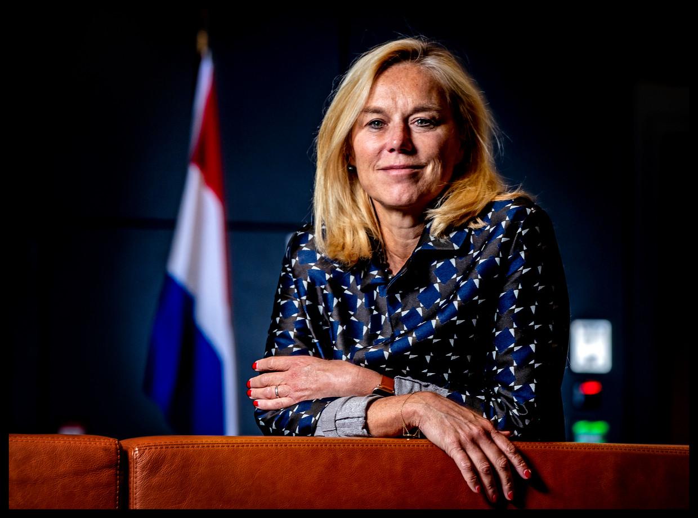 Minister Sigrid Kaag voor Buitenlandse Handel en Ontwikkelingssamenwerking (D66). Beeld Pim Ras