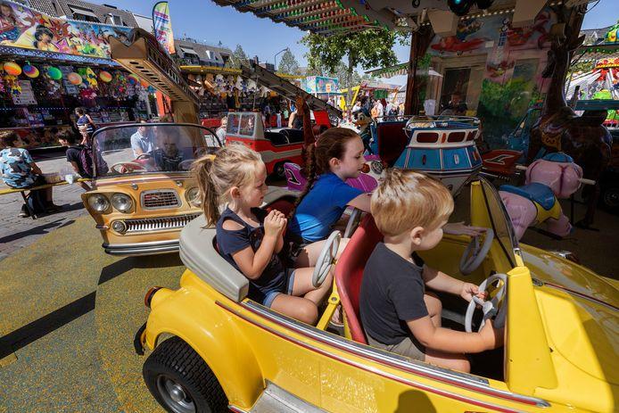 Kinderen hebben dit jaar op de kermis in Valkenswaard het rijk alleen.