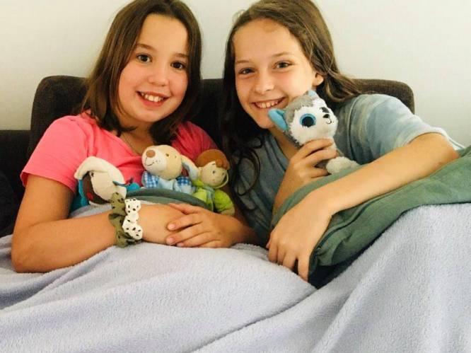 """10-jarige Nora en Muka redden 6-jarige jongen van de verdrinkingsdood in zwembad Deinze: """"Plots zagen we bubbeltjes in het water"""""""