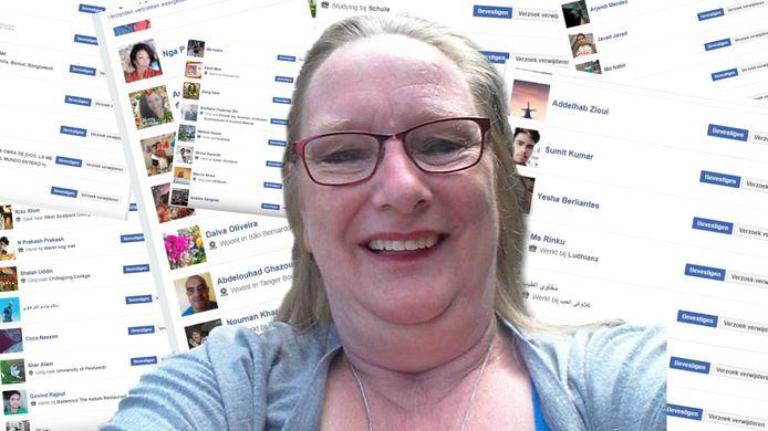 Narda is ineens mega-populair op Facebook.