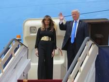 Trump is op rondreis en neemt mee