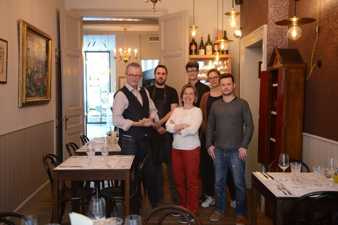 Stéphane Godfroid (links) en zijn team van Convento vieren het 10-jarig bestaan van de zaak.