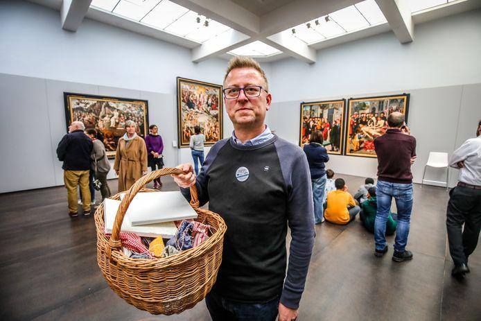 Brugge Ewout Vanhoecke maakt musea toegankelijker voor mensen met een beperking