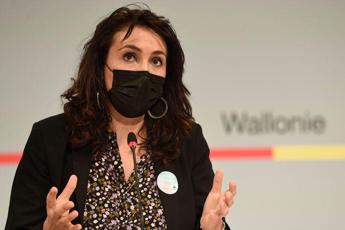 Christie Morreale, ministre wallonne de la Santé