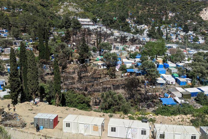 Migrantenkamp op Samos