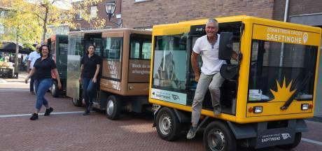 Grenspark Groot Saeftinghe ontdekken kan voortaan met de Zonnetrein