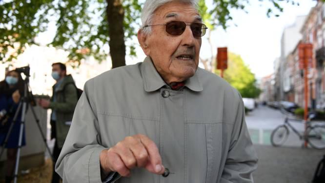 """Studenten brengen de oorlogsjaren terug tot leven met Jef Reinquin (90): """"De jeugd van vandaag moet weer inzien dat niets vanzelfsprekend is. Zélfs vrede niet"""""""