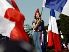 Cinquième samedi de mobilisation anti-pass sanitaire en France