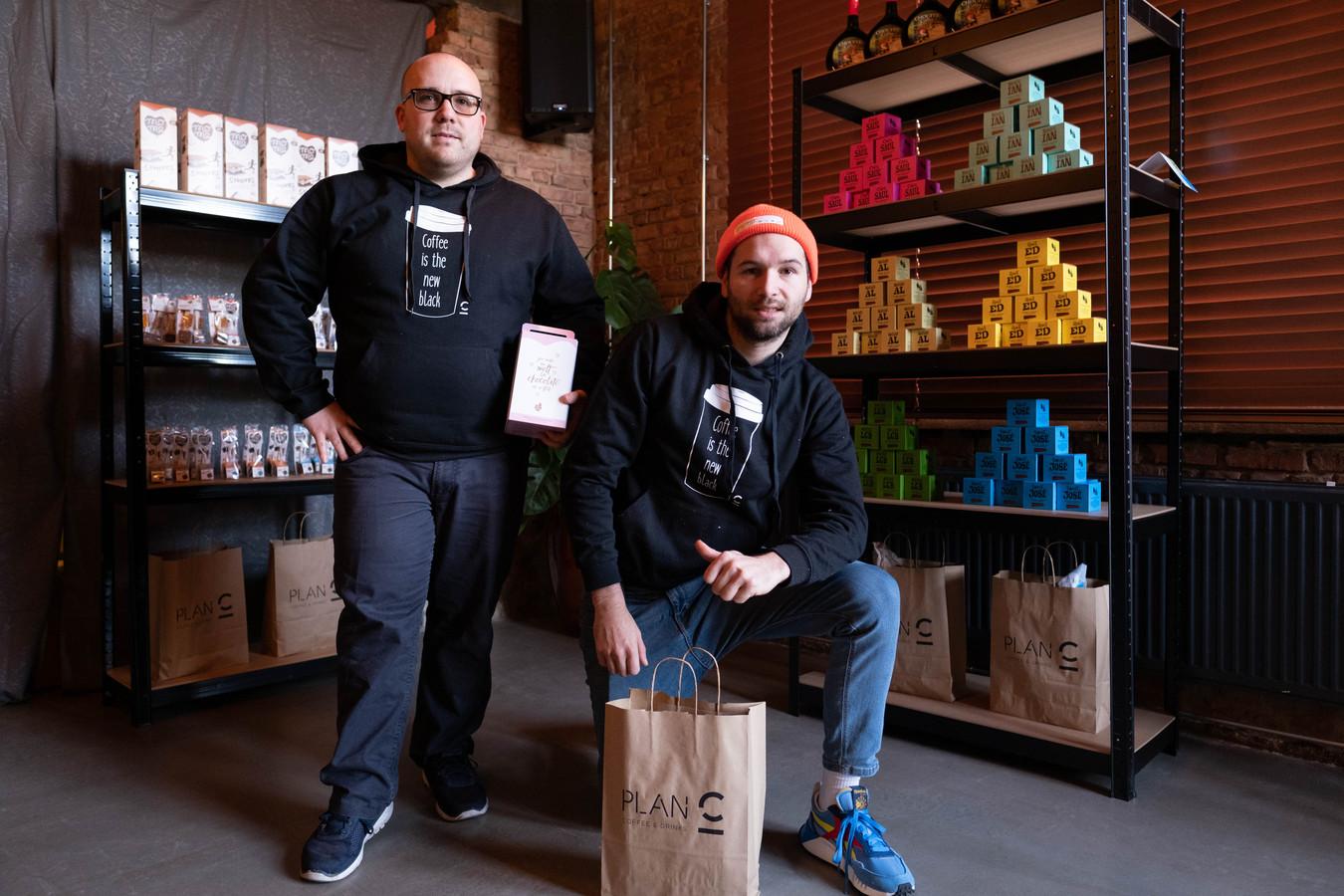 WILLEBROEK Frodo Van de Ven en Sören Roelants turnen Plan C om tot pop-up shop C