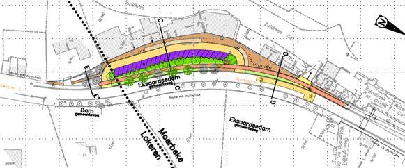De eerste werken zijn gepland aan Eksaardedam Zuid.