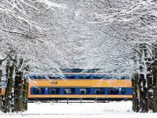 Morgen minder treinen vanwege verwachte sneeuwval