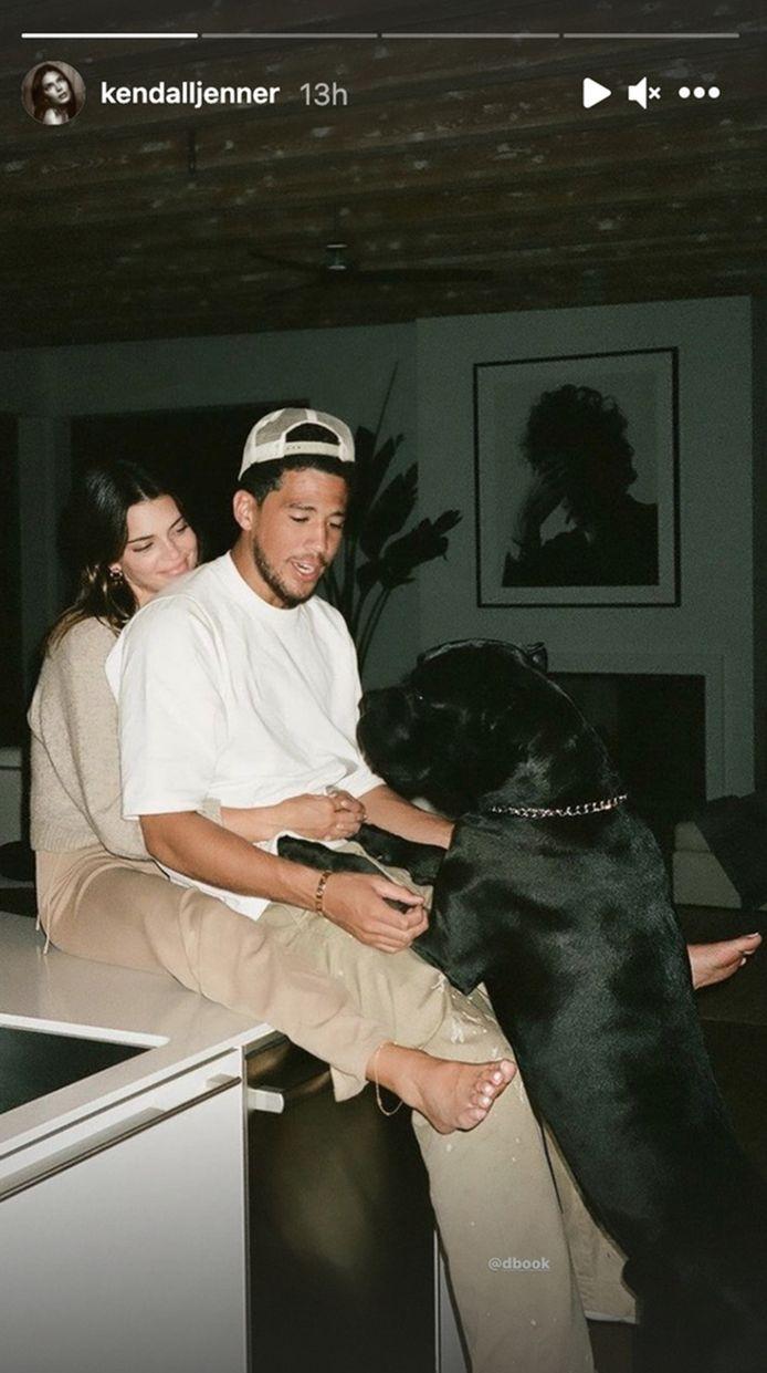 Kendall Jenner en Devin Booker