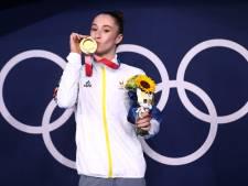 """La performance de Nina Derwael saluée sur Twitter: """"L'une des plus belles médailles d'or de tous les temps"""""""