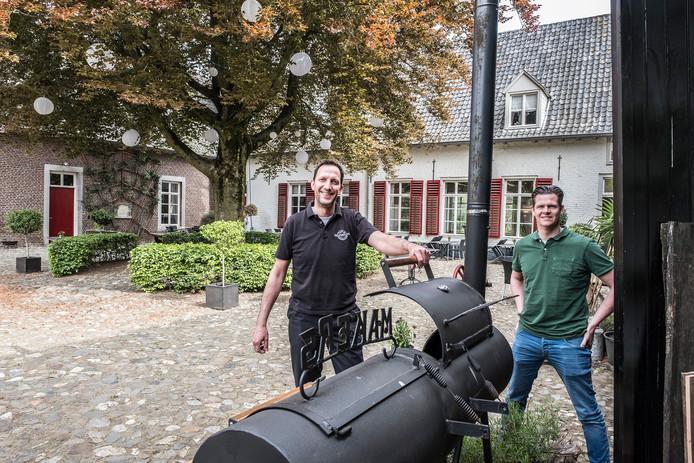 Smaakmakers Hans van der Steijn (links) en Emil Minten.