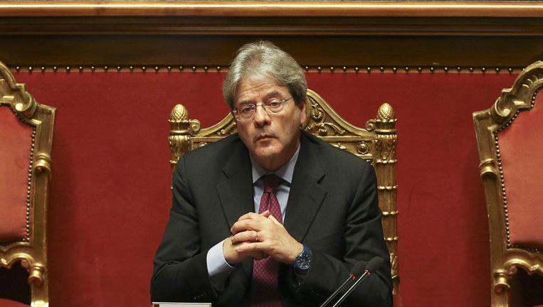 Paolo Gentiloni Beeld REUTERS