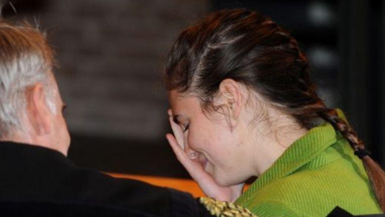De Amerikaanse studente Amanda Knox is in Italië veroordeeld voor de moord op de 22-jarige Meredith Kercher. Foto ANP Beeld