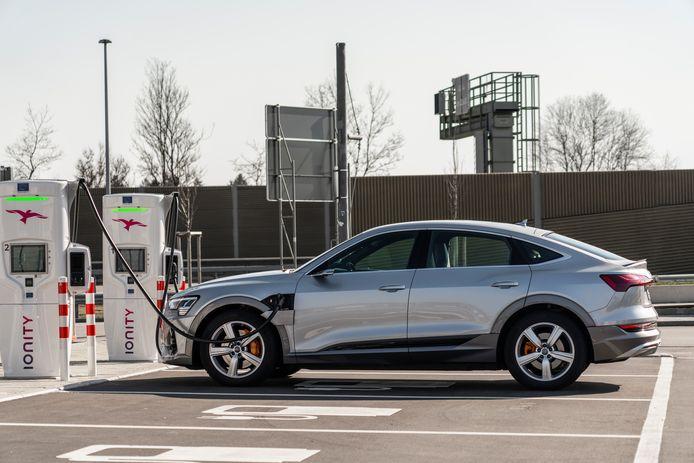 Audi: 'Laadsnelheid is belangrijker dan het aantal kilometers bereik'