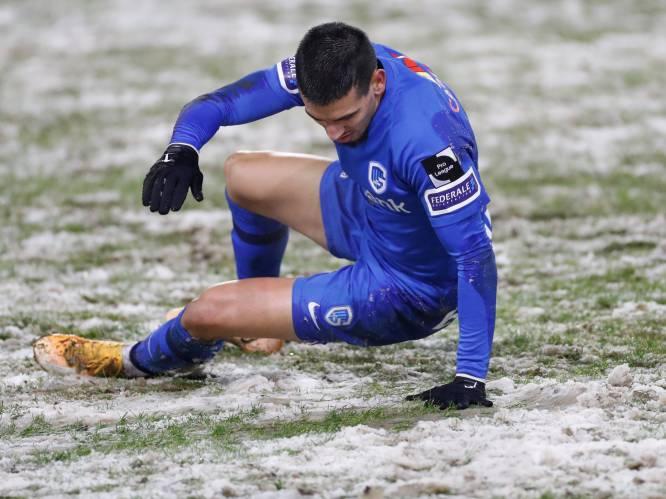 Na avondje 'sneeuwvoetbal': RC Genk en Kortrijk leggen klacht neer bij KBVB en azen op forfaitzege