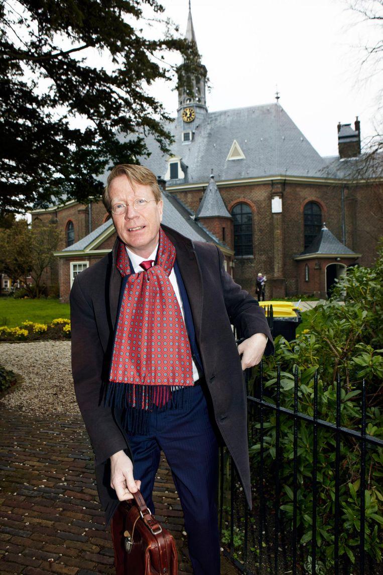 Van Nieuwpoort werd vierenhalf jaar gevolgd door een filmploeg. Beeld Jan Dirk van der Burg